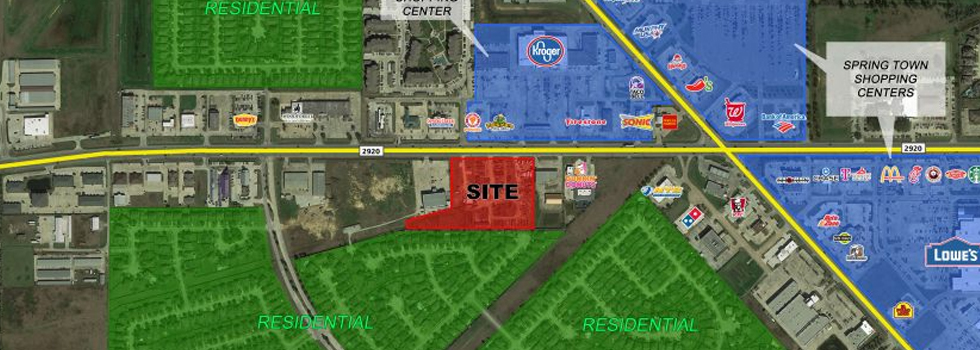 6149 FM 2920 | COMMERCIAL DEVELOPMENT LAND